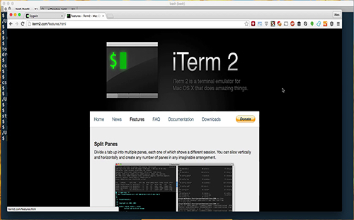 Installing iTerm or Cygwin